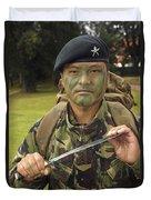 A British Army Gurkha Duvet Cover