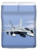 A Cf-188a Hornet Of The Royal Canadian Duvet Cover