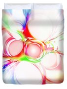 Abstract Of Circle  Duvet Cover by Setsiri Silapasuwanchai