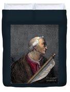 Amerigo Vespucci (1454-1512) Duvet Cover