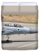 An F-15d Eagle Baz Aircraft Duvet Cover