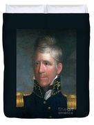 Andrew Jackson, 7th American President Duvet Cover