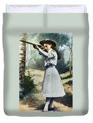 Annie Oakley (1860-1926) Duvet Cover