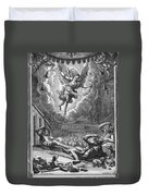 Annunciation To Shepherds Duvet Cover