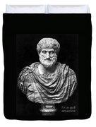 Aristotle (384-322 B.c.) Duvet Cover