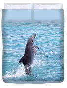 Atlantic Bottlenose Dolphin Duvet Cover