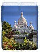 Basilique Du Sacre Coeur Duvet Cover