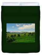 Bridger Mountain View Duvet Cover