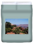 By The Canyon Duvet Cover