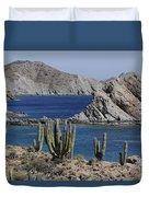 Cardon Pachycereus Pringlei Cacti Duvet Cover