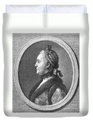 Catherine II (1729-1796) Duvet Cover