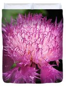 Centaurea From The Sweet Sultan Mix Duvet Cover