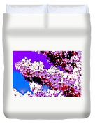 Cherry Blossom Art Duvet Cover