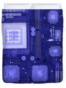 Circuit Board Duvet Cover