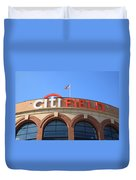 Citi Field - New York Mets Duvet Cover