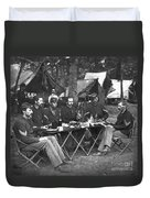 Civil War Soldiers Duvet Cover