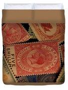 Closeup Of Classic British Empire Duvet Cover