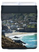 Cornish Seascape St Agnes  Duvet Cover
