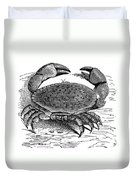 Crab Duvet Cover