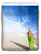Desert Woman Duvet Cover