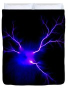 Electric Spark Duvet Cover