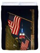 Empire State Building Duvet Cover
