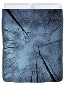 Epping Forest Trees Duvet Cover