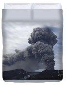 Eyjafjallajökull Eruption, Iceland Duvet Cover