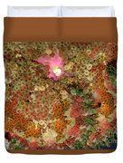 Fluorescent Sea Anemone Duvet Cover