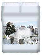 Fountain Duvet Cover