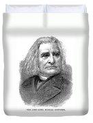 Franz Liszt (1811-1886) Duvet Cover