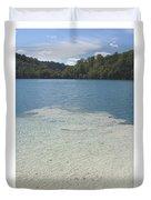 Freshwater Reef Duvet Cover