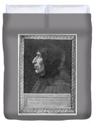 Girolamo Savonarola Duvet Cover