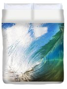 Glassy Breaking Wave Duvet Cover