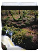 Glenmacnass Waterfall, Co Wicklow Duvet Cover