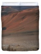 Haleakala Volcano Maui Hawaii Duvet Cover