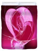 3 Hearts Duvet Cover