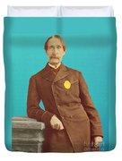 Henry Bergh, American Founder Of Aspca Duvet Cover