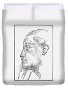 James Joyce (1882-1941) Duvet Cover
