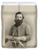 Jeb Stuart, Confederate General Duvet Cover