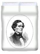 Jefferson Davis (1808-1889) Duvet Cover