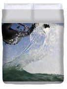 Kitesurfing Board Duvet Cover