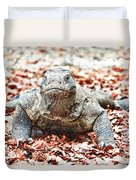 Komodo Dragon Duvet Cover
