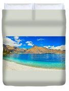 Lake Wakatipu Duvet Cover