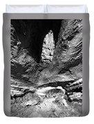 Lava Tube Cave Duvet Cover