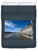 London Eye And County Hall Duvet Cover
