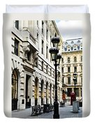 London Street Duvet Cover by Elena Elisseeva