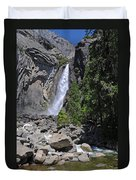 Lower Yosemite Falls Duvet Cover