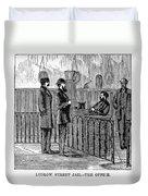 Ludlow Street Jail, 1868 Duvet Cover
