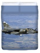 Mirage F1cr Of The French Air Force Duvet Cover